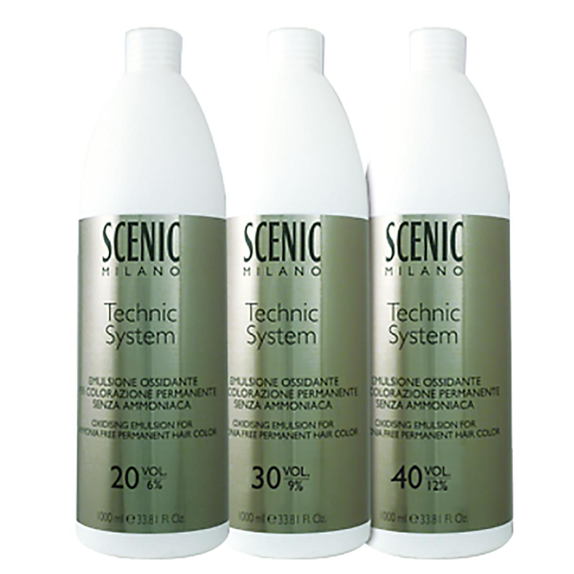04 Ossidante Scenic Technic System AmmoniaFree da 1000 ml