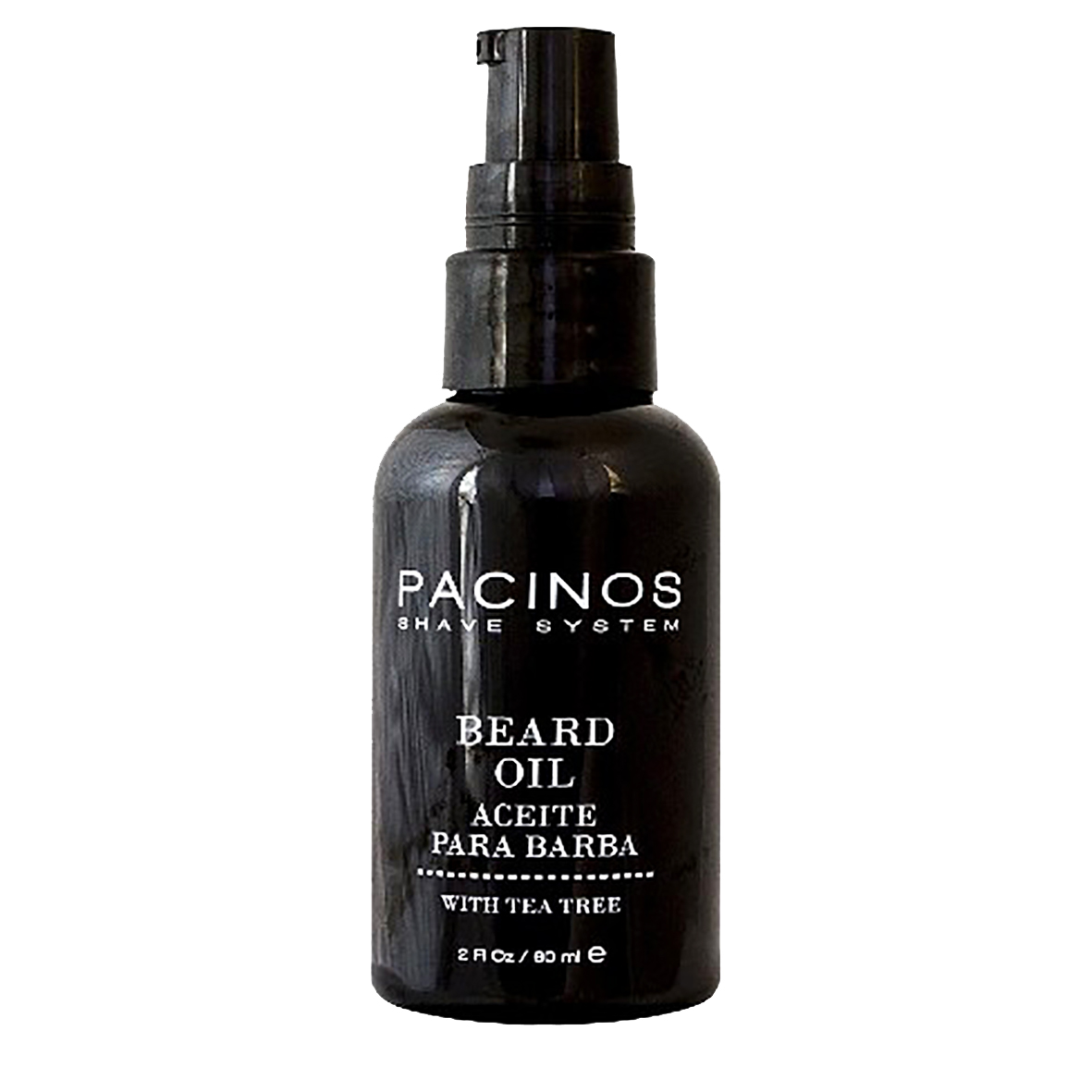 06 Olio da barba Pacinos SL Beard Oil Shave System da 60 ml
