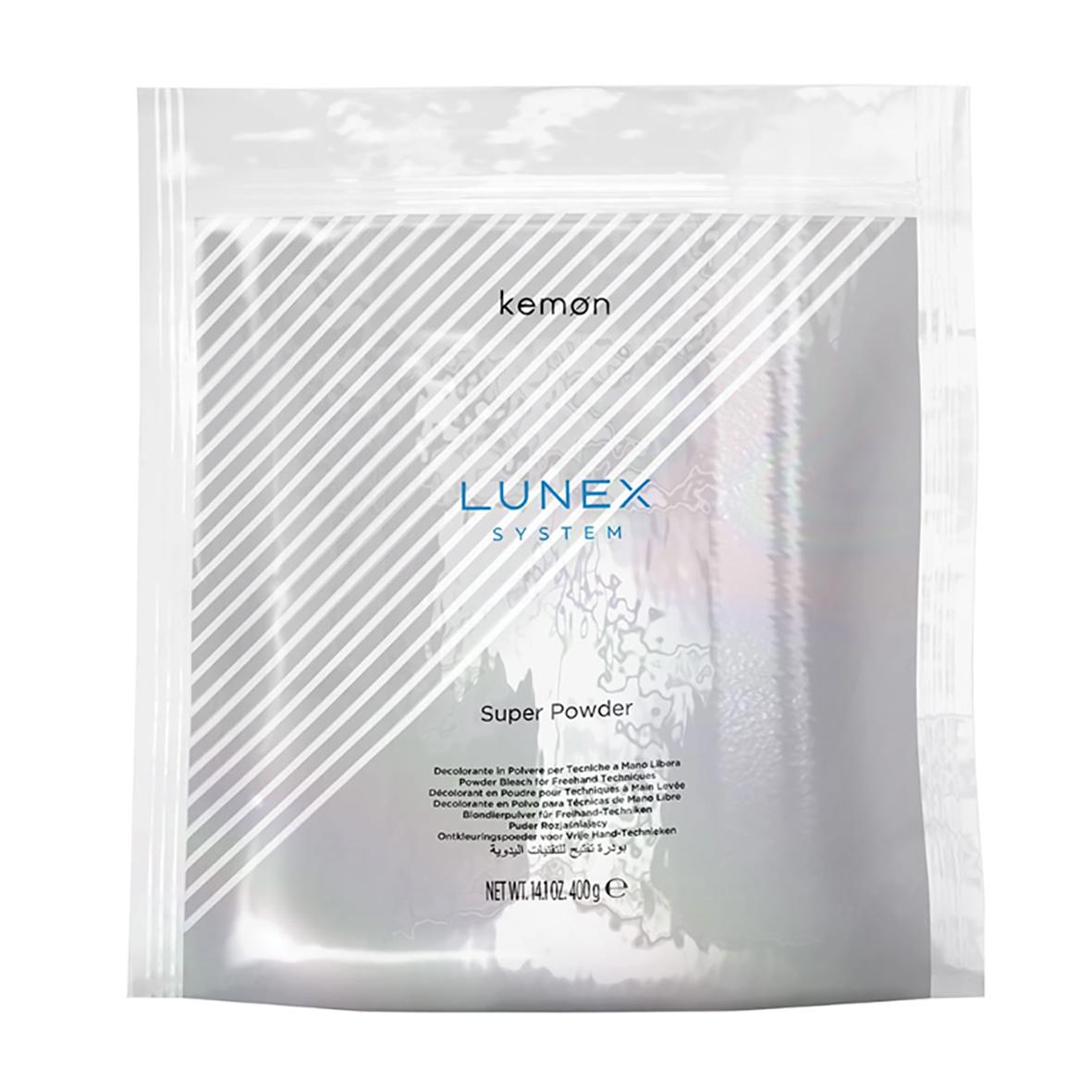 09 Polvere decolorante Kemon Lunex System da 400 gr