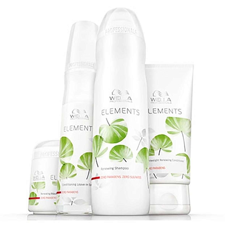 17 Linea Wella Elements (per la cura di cute e capelli)